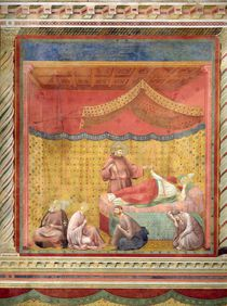 The Vision of Pope Gregory IX 1297-99 by Giotto di Bondone