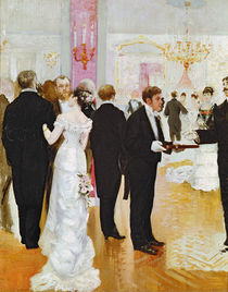 The Wedding Reception, c.1900 by Jean Beraud