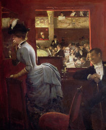 The Box by the Stalls, c.1883 by Jean Beraud