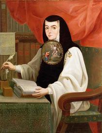 Sister Juana Ines de la Cruz by Andres de Islas