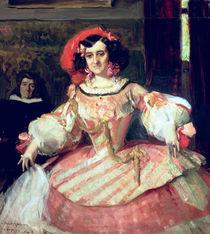 Portrait of Maria Guerrero by Joaquin Sorolla y Bastida