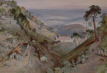 The Plains, Landour Church by William 'Crimea' Simpson