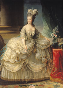 Marie Antoinette Queen of France von Elisabeth Louise Vigee-Lebrun