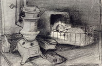 Cradle by Vincent Van Gogh