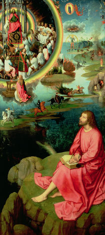 St. John the Evangelist at Patmos by Hans Memling