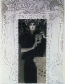 Tragedy, 1897 von Gustav Klimt