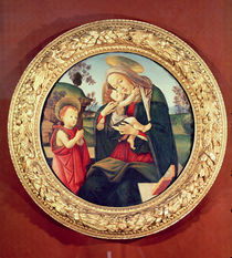 Virgin and Child with John the Baptist by Sandro Botticelli