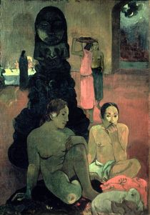 The Great Buddha, 1899 by Paul Gauguin