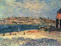 River Banks at Saint-Mammes by Alfred Sisley