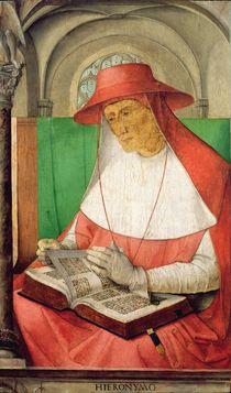 Portrait of St. Jerome c.1475 by Joos van Gent