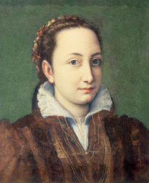 Self portrait, attired as maid-of-honour to the Queen of Spain by Sofonisba Anguissola