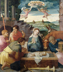 Adoration of the Shepherds by French School