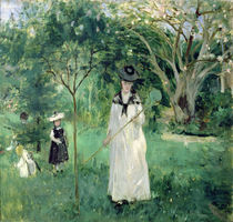 The Butterfly Hunt, 1874 von Berthe Morisot