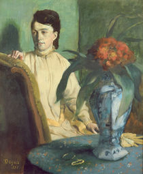 Woman with the Oriental Vase by Edgar Degas