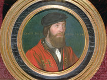 A dignitary at the court of King Henry VIII of England von Hans Holbein the Younger
