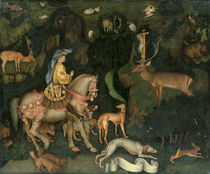 The Vision of St. Eustachius von Antonio Pisanello