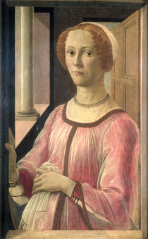 Smeralda Bandinelli, grandmother of the sculptor Baccio Bandinelli von Sandro Botticelli