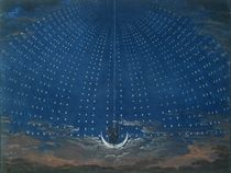 The Palace of the Queen of the Night by Karl Friedrich Schinkel