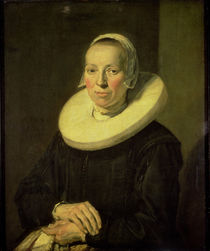 Portrait of a woman, 1644 by Frans Hals