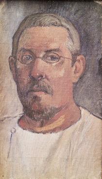 Self portrait, 1902-3 by Paul Gauguin
