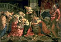 The Birth of St. John the Baptist von Jacopo Robusti Tintoretto