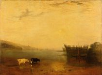 Teignmouth Harbour, c.1812 by Joseph Mallord William Turner