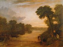 The Thames near Windsor, c.1807 von Joseph Mallord William Turner