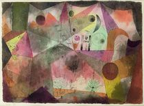 With the H, 1916 by Paul Klee