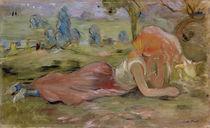The Goatherd, 1891 von Berthe Morisot