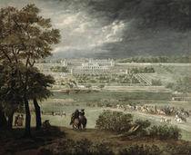 Château of St. Germain-en-Laye in 1655 by Adam Frans Van der Meulen