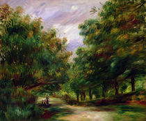 The road near Cagnes, 1905 by Pierre-Auguste Renoir