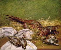 Pheasant and Thrushes, 1902 von Pierre-Auguste Renoir