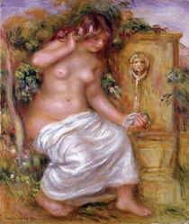 The Bather at the Fountain by Pierre-Auguste Renoir