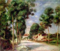 The Road to Essoyes, 1901 von Pierre-Auguste Renoir