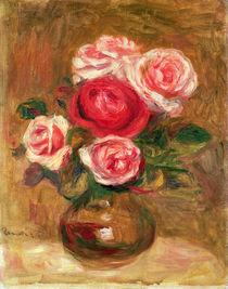 Roses in a pot von Pierre-Auguste Renoir
