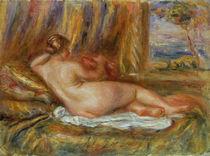 Reclining nude, 1914 von Pierre-Auguste Renoir