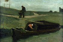 The Peat Boat, 1883 by Vincent Van Gogh