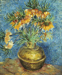 Crown Imperial Fritillaries in a Copper Vase von Vincent Van Gogh