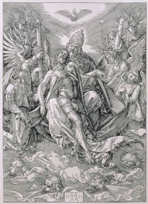The Holy Trinity, pub. 1511 by Albrecht Dürer