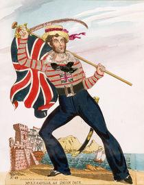 Mr E.F. Saville as 'Union Jack' by English School