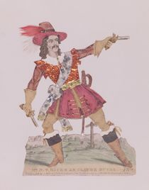 Mr. N.T. Hicks in the guise of the French highwayman Claude Duval von English School