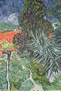 The Garden of Doctor Gachet at Auvers-sur-Oise by Vincent Van Gogh