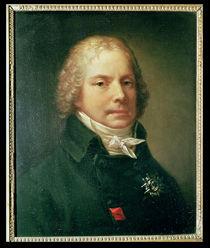 Portrait of Charles Maurice de Talleyrand-Perigord von Pierre-Paul Prud'hon