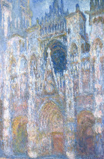 Rouen Cathedral, Blue Harmony