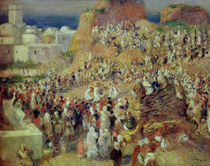 The Mosque, or Arab Festival by Pierre-Auguste Renoir