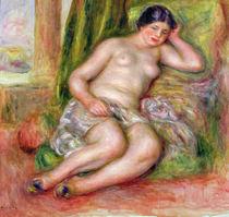 Sleeping Odalisque, or Odalisque in Turkish Slippers von Pierre-Auguste Renoir