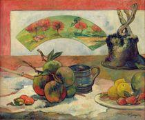 Still Life with a Fan, c.1889 by Paul Gauguin