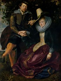 Self portrait with Isabella Brandt by Peter Paul Rubens