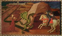 St. George and the Dragon, c.1439-40 by Paolo Uccello