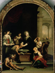 St. Elizabeth of Hungary tending the sick and leprous von Bartolome Esteban Murillo